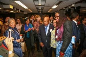 Congressman John Lewis Book Tour SF-7992