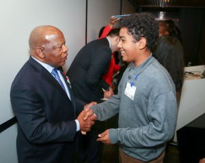 Congressman John Lewis Book Tour SF-8128