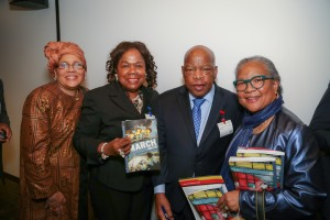 Congressman John Lewis Book Tour SF-8144