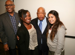 Congressman John Lewis Book Tour SF-8146