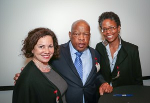 Congressman John Lewis Book Tour SF-8156