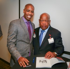 Congressman John Lewis Book Tour SF-8168