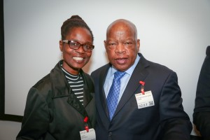 Congressman John Lewis Book Tour SF-8174