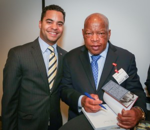 Congressman John Lewis Book Tour SF-8182