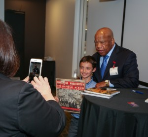 Congressman John Lewis Book Tour SF-8185