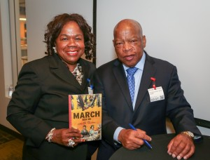 Congressman John Lewis Book Tour SF-8186