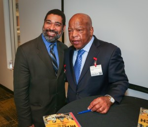 Congressman John Lewis Book Tour SF-8190