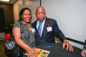 Congressman John Lewis Book Tour SF-8193