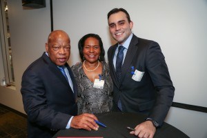 Congressman John Lewis Book Tour SF-8195
