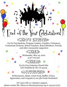 flyer end of year